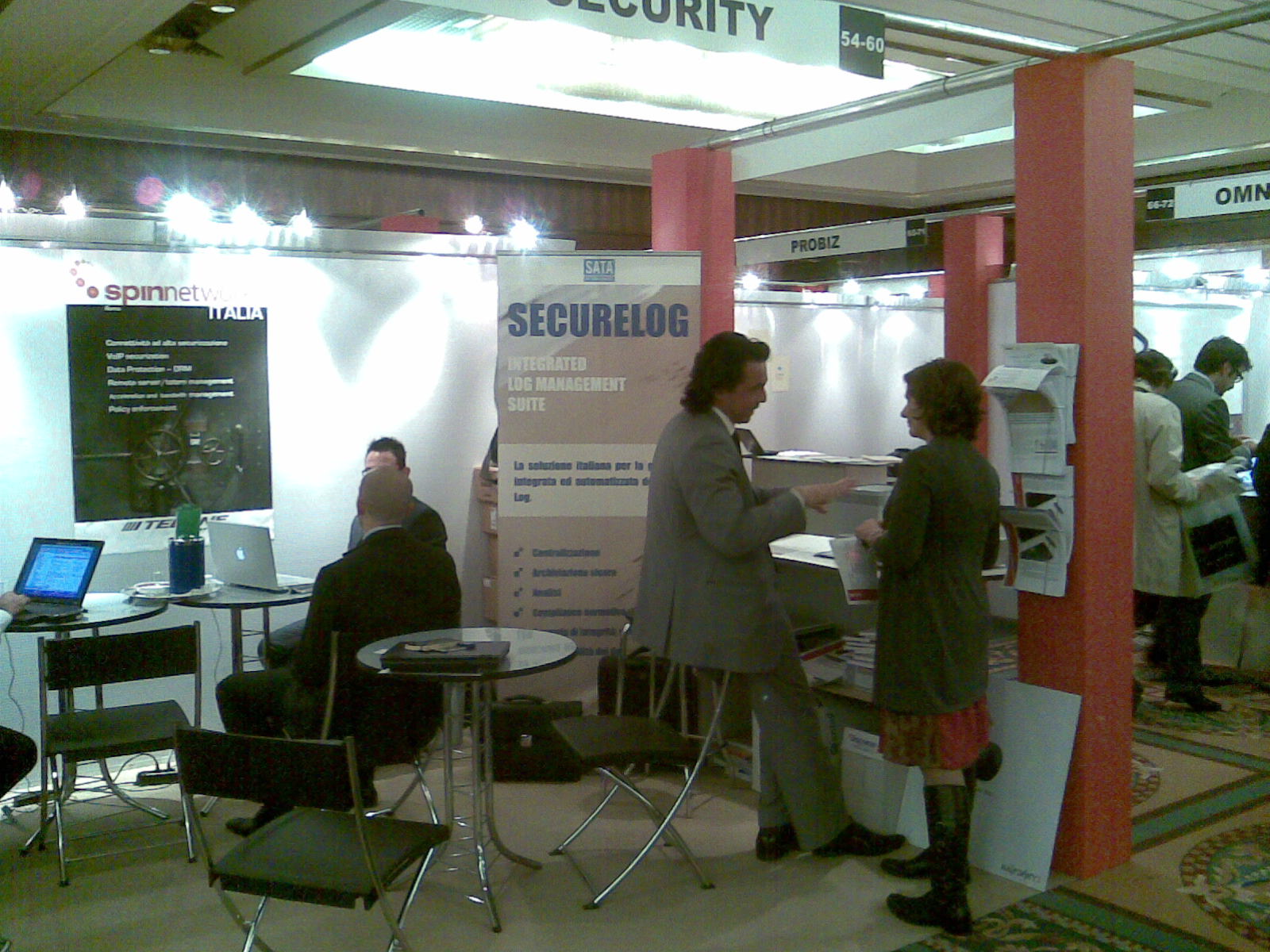 Techne Security e Sata HTS con Securelog a ICT Security